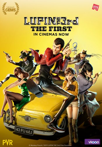 Lupin III: The First (2020) Full Movie Download